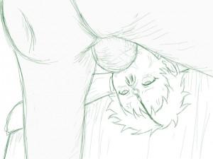 エウレカ(ピキレカ)のイラマチオ+鼻フック